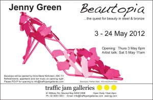Jenny Green Beautopia Invite