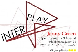 Interplay Exhibition opening 9 August